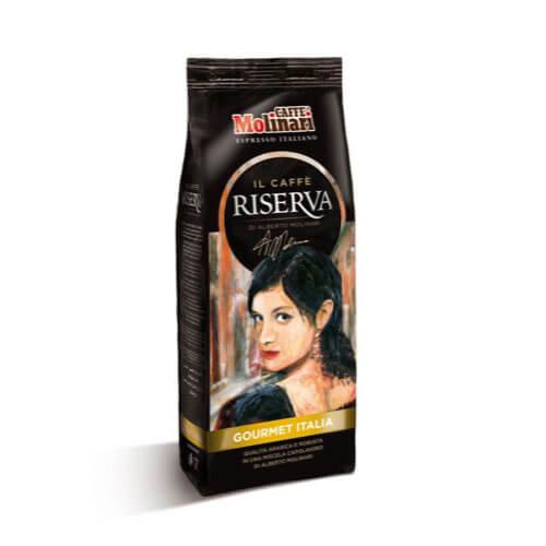 GROUND COFFEE RISERVA GOURMET ITALIA 250GR FLOW BAG