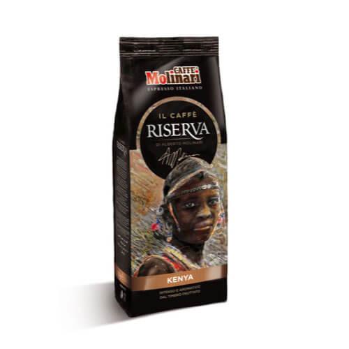 GROUND COFFEE RISERVA KENYA 250 GR. FLOW BAG